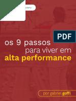 Gabriel Goffi 9 Passos Para Viver Em Alta Performance