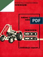 Ursus_c330 c335 Instrukcja Napraw 1986
