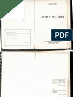 Ator e Método - Eugenio Kusnet