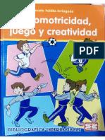 Psicomotricidad, Juego y Creatividad, Valdés M. 2005
