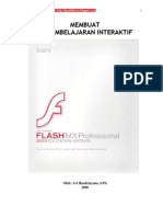 Flash MX 2004 - Membuat CD Pembelajaran Interktif
