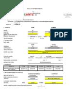 expediente tecnico, que contiene planos y presupuesto detallado de una alcantarrilla