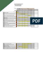 Cronograma de La Comisión de Operación