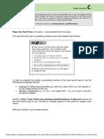 Exam Practice C (v1) P1 T3, P2 T3 File