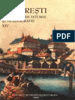 14 Bucuresti Materiale de Istorie Si Muzeografie Xiv 2000
