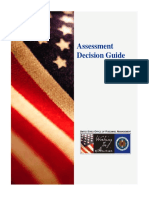 Assessment Decision Guide