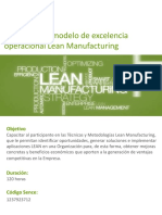 Lean Manufacturing Diplomado