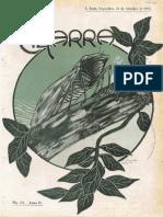 Cigarra edição de 18 09 1917