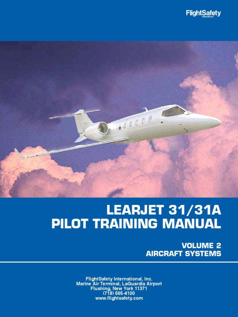 learjet lj31 31a ptm v2r2 stall fluid mechanics airplane rh scribd com learjet 60 pilot manual learjet 45 pilot training manual pdf