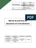 Prácticas de termodinámica