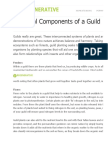 7 Typical Components of a Guild