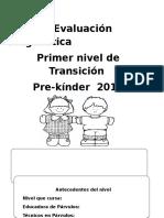 INFORME Evaluacion Diagnostica PREKINDER 2017 KIDS