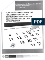 Plan de Recuperacion Pedagógica
