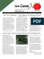 Dec 1999 CAWS Newsletter Madison Audubon Society