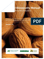 Orchard Biosecurity Manual for the Almond Industry