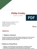 Control de Calidad Philip Crosby