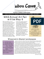 Apr 2000 CAWS Newsletter Madison Audubon Society