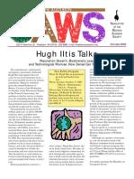 Oct 2000 CAWS Newsletter Madison Audubon Society