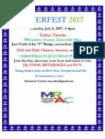 Riverfest2017 Poster