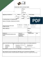 Edubridge Franchise Application Form