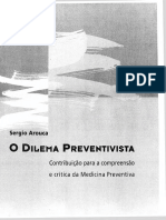 AROUCA, Sergio - O Dilema Preventivista