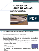 Tratamiento Secundario de Aguas Residuales