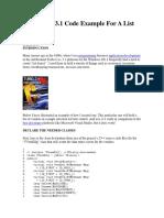 Turbo C ListBox