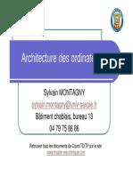 Cours-Architecture Des Ordinateurs