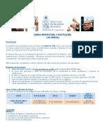 Programa Curso Reposteria y Pasteleria