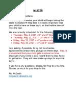 parent letter- m-step