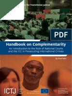 ICTJ Handbook ICC Complementarity 2016