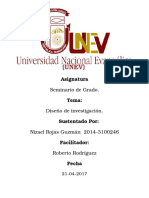 Universidad Nacional Evangelica Trabajo Final