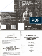 [XEROX] Peter Norton - Linguagem Assembly Para IBM PC