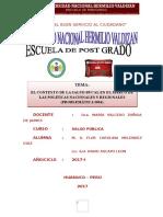 Salud Bucal en Huánuco