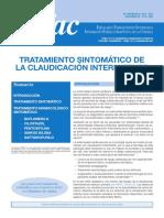 Tratamiento Sintomático de La Claudicación Intermitente