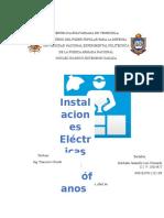 Informe de Instalaciones Eléctricas en Quirófanos