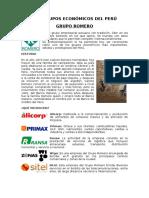 Los Grupos Económicos Del Perú (1)