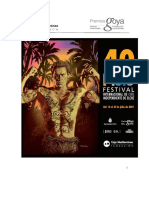 40th Elche International Independent Film Festival. Rules and Registration
