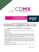Plan de Gestión de Residuos de la CDMX