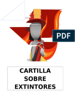 Cartilla de Extintores