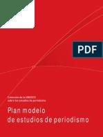Plan Modelo de Estudios de Periodismo