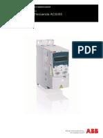 Manual Variador ACS355 ABB