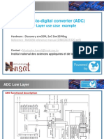 ADC Low Layer Use Case