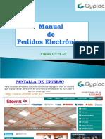 Manual - Pedidos Electrónicos GYPLAC