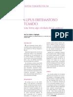 Lupus Eritematoso Túmido (LE Cronico)