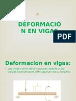 """Deformaciã""""n en Vigas"""