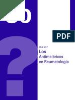 Los Antimalaricos en Reumatologia
