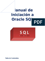 Manual de Iniciación a Oracle SQL