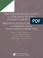 Aprendizajes Plurilingues y Literarios 20