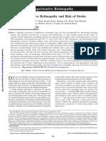 Hypertensive Retinopathy and Risk of Stroke